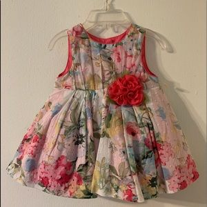 Pippa & Julie - Floral Baby Girl Dress